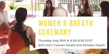 Women's Breath Ceremony: Let Go Of Guilt - Breathe In Gratitude Tickets