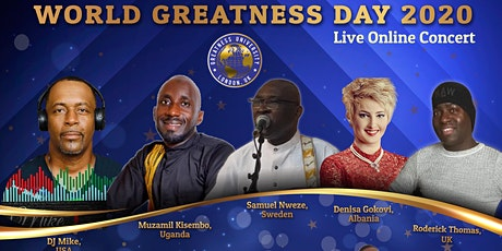 World Greatness Day Concert 2020 tickets