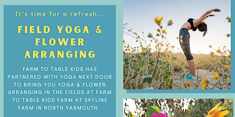 Yoga & Flower Arranging at the Farm tickets