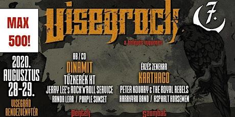 7. Visegrock Fesztivál MAX500! tickets