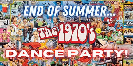 End of Summer 70's Dance Party with DJ Keith Purnell tickets