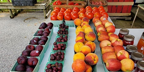 Fresh produce farmer's market in Crisfield tickets