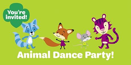 Animal Dance Party (Virtual Event) for Families of Color tickets