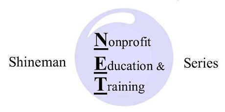 Shineman N.E.T. Series Workshop: Fundraising NOW tickets