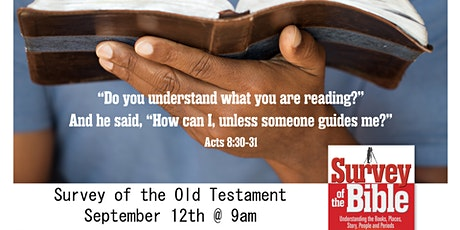 Survey of the Old Testament tickets
