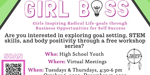Girl Boss: Empowerment Class for Teen Girls