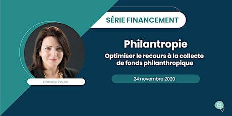 Financement - Optimiser la collecte de fonds philanthropique billets