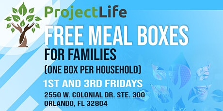 1st Friday Family Mealbox tickets