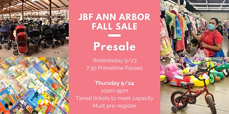 Presale Shopping Sept. 23-24 tickets