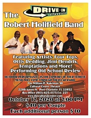 Drive-in Summer Concert Series- Robert Holifield Band tickets