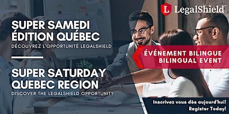 Super Samedi LegalShield - Édition QC | LegalShield Super Saturday - Quebec tickets