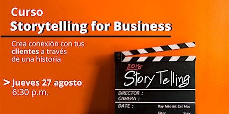 Storytelling: Crea conexión con tus clientes a través de una historia biglietti