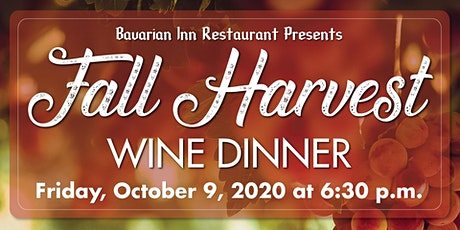 Fall Harvest Wine Dinner tickets