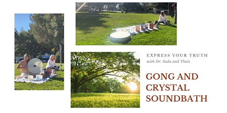 Gong and Crystal Soundbath Meditation tickets