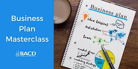 BACD Business Plan Masterclass tickets
