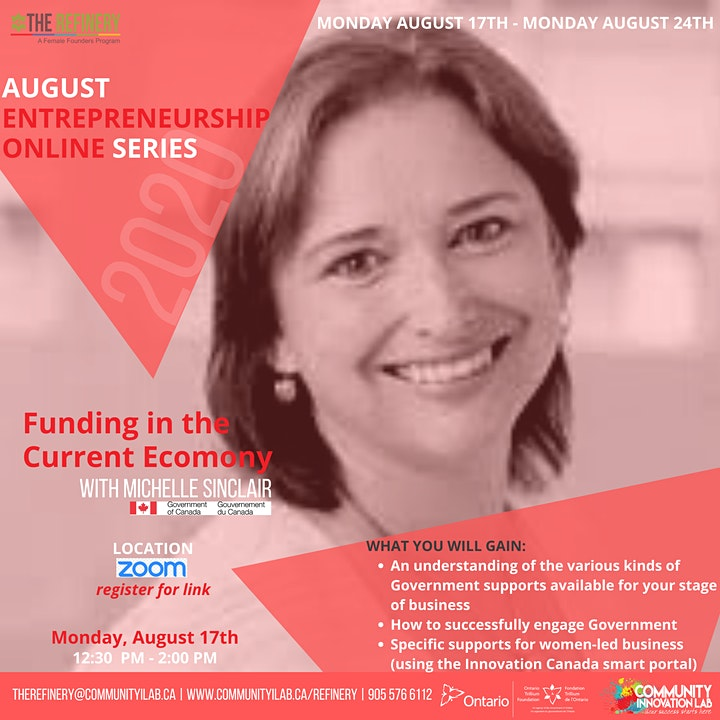 August Entrepreneurship  Series: Funding in the Current Economy image