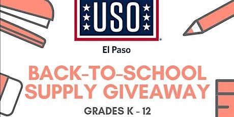 USO - Back-To-School Supply Giveaway boletos