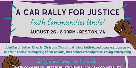 Car Rally for Racial Justice tickets