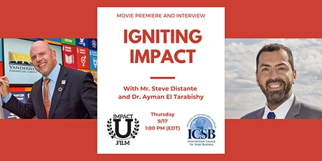 Igniting Impact Premier and Interview tickets