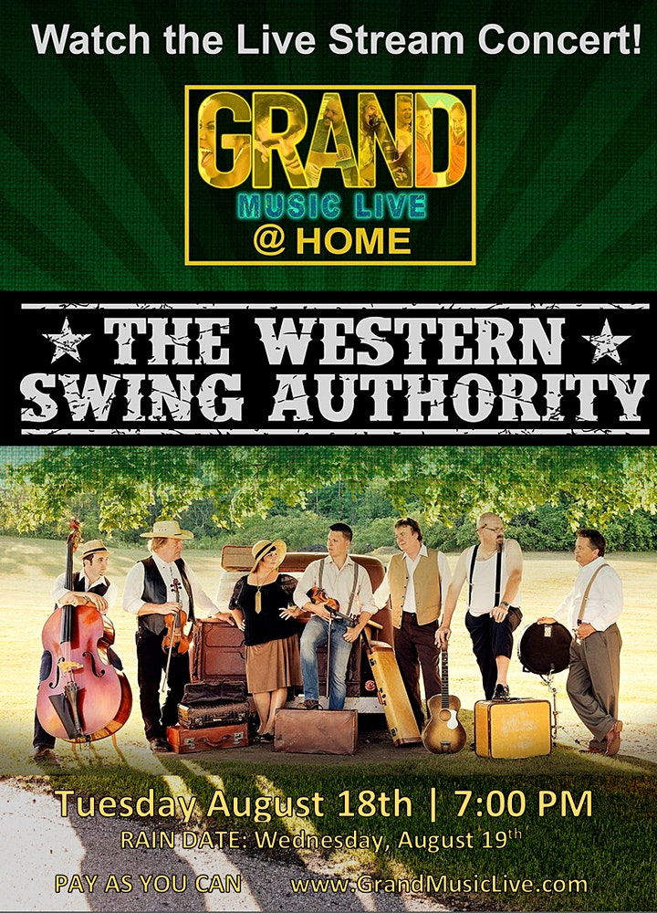 Grand Music Live@Home Presents: The WESTERN SWING AUTHORITY image