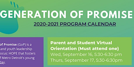 Parent and Student Virtual Orientation (Must attend one) tickets