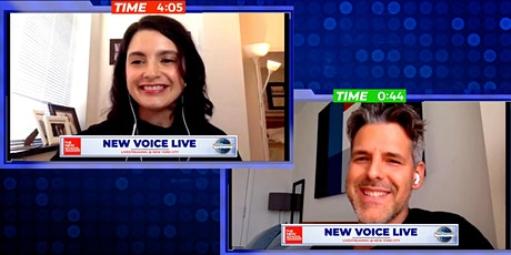 New Voice Live: Public Speaking & How to Look Good On Camera tickets