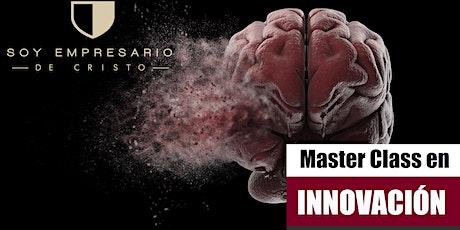 Master Class en Innovación boletos