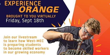 West-MEC Experience Orange-Free Virtual Event tickets