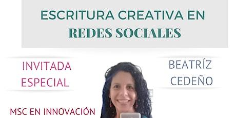ESCRITURA CREATIVA tickets