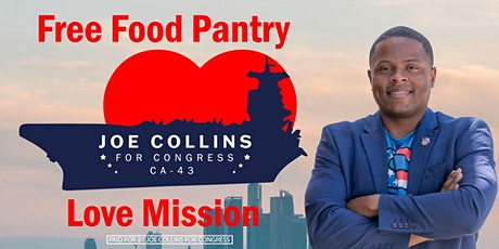 Joe Collins' Love Mission Food Pantry tickets