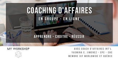Coaching d'affaires en groupe tickets