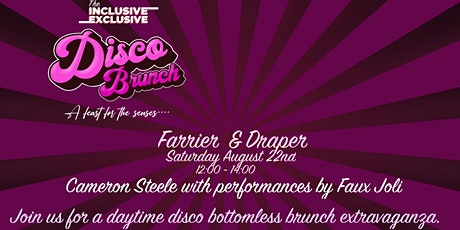 Inclusive Exclusive Disco Brunch tickets