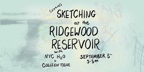 Sketching the Ridgewood Reservoir tickets
