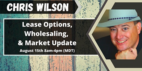Lease Options, Wholesaling, & Market Update tickets