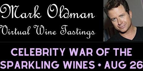 Celebrity War of Sparkling Wines (free)| Mark Oldman Virtual Wine Tastings tickets