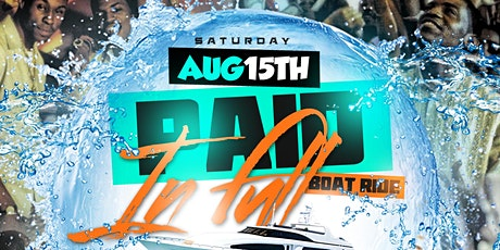 """Paid in Full """"BoatRide"""" tickets"""