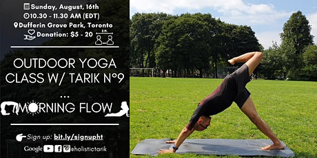 Morning Flow - Outdoor Yoga Class in Toronto Park n°9 tickets