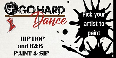 Hip Hop Sip and Paint tickets