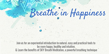 Discover the power of your breath to ease anxiety & live with positivity tickets