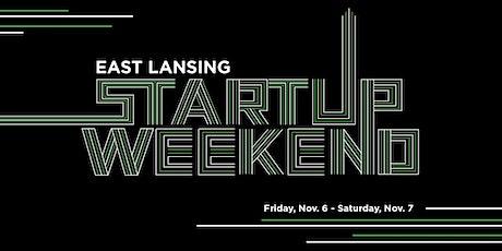 East Lansing Startup Weekend — November Tickets