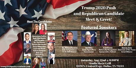 Trump 2020 Push and Republican Candidate Meet & Greet! tickets
