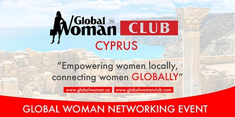 GLOBAL WOMAN CLUB CYPRUS: BUSINESS NETWORKING MEETING  - SEPTEMBER tickets