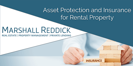 Asset Protection and Insurance for Rental Property tickets
