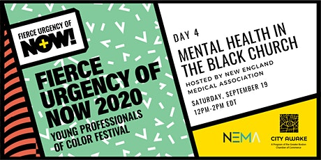 Mental Health in the Black Church – Fierce Urgency of Now! tickets