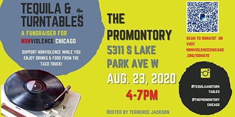 Tequila & Turntables: A Fundraiser for Nonviolence Chicago tickets
