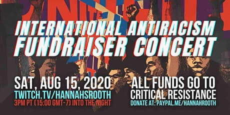 International Fundraiser Concert for Anti-racism! tickets