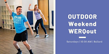 Outdoor Dance Fitness WERQout tickets