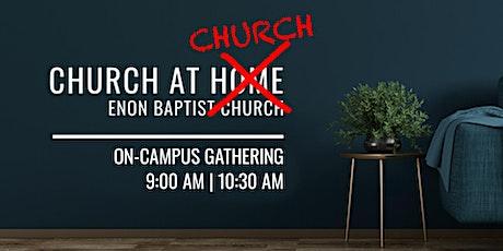 Enon Baptist Church Sunday Worship | August 16, 2020 tickets