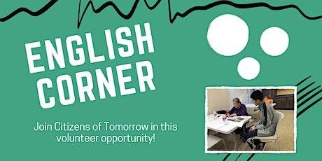 Volunteering For Online English Conversation Corner tickets