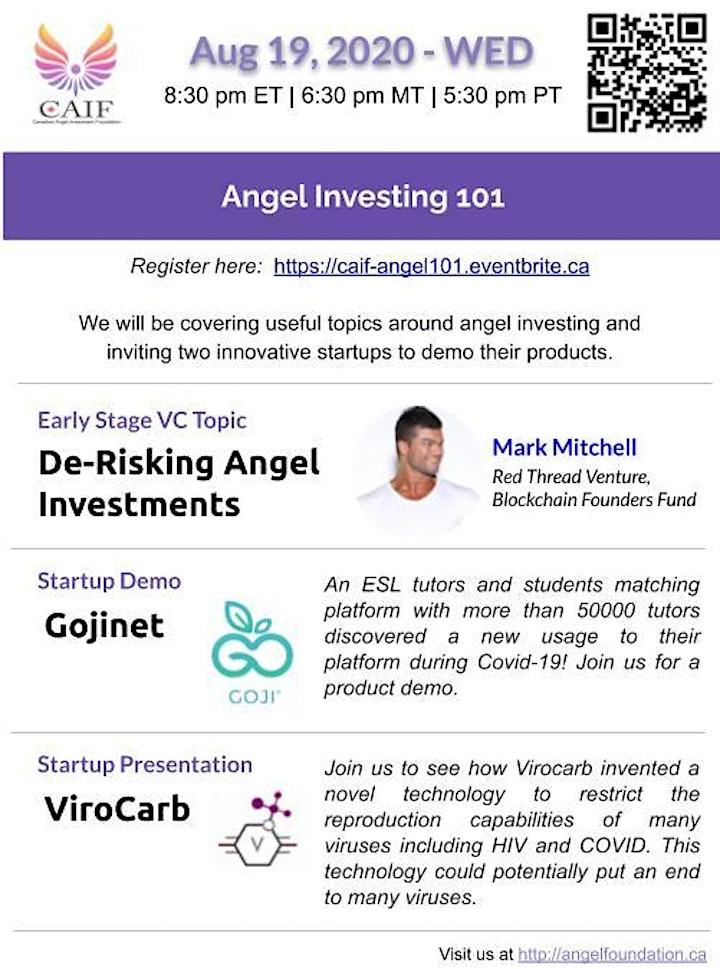 Angel Investing 101 image